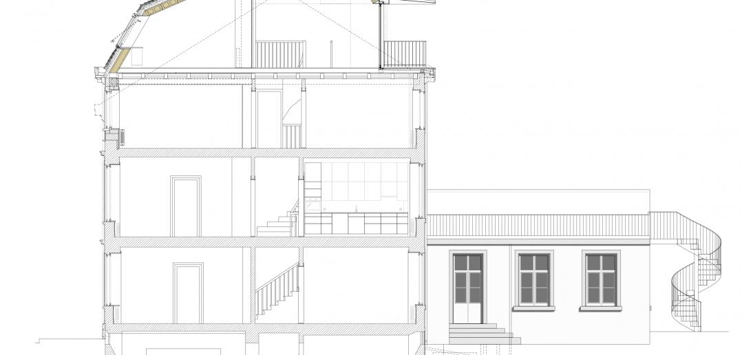 Schnitt © Forsberg Architekten AG