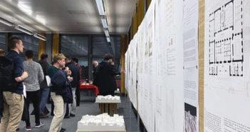 Vernissage Wettbewerb Kantonsgericht Liestal © Simon Heiniger / Architektur Basel