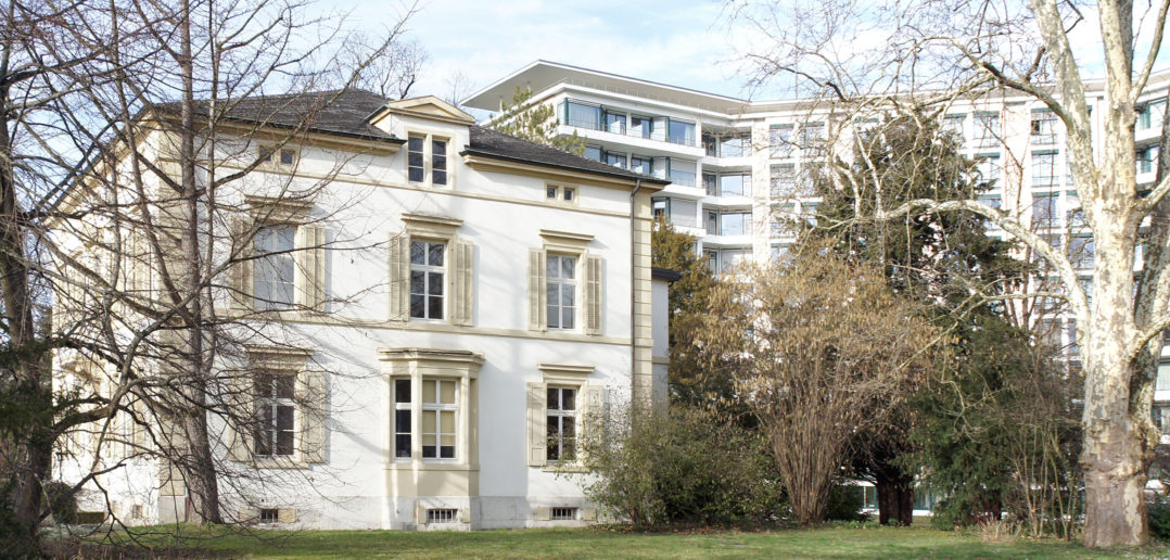 Könnens gut zusammen: Spital und Villa Gauss, Liestal, 2018 © Architektur Basel