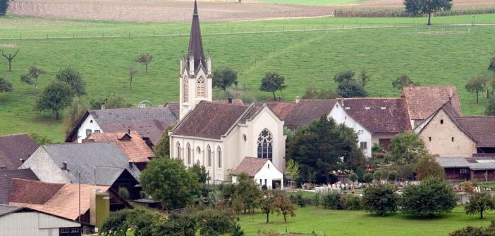 Reformierte Kirche St. Martin, Kilchberg BL © Börje Müller Fotografie