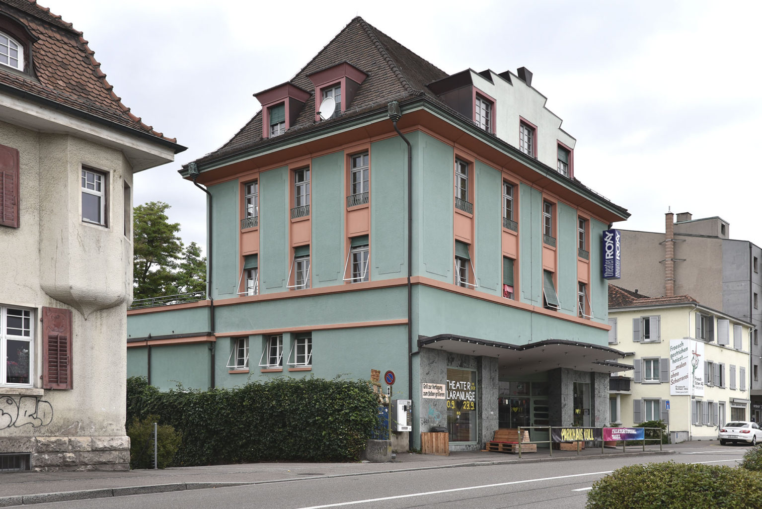 Ehemaliges Kino Roxy, Birsfelden © Architektur Basel