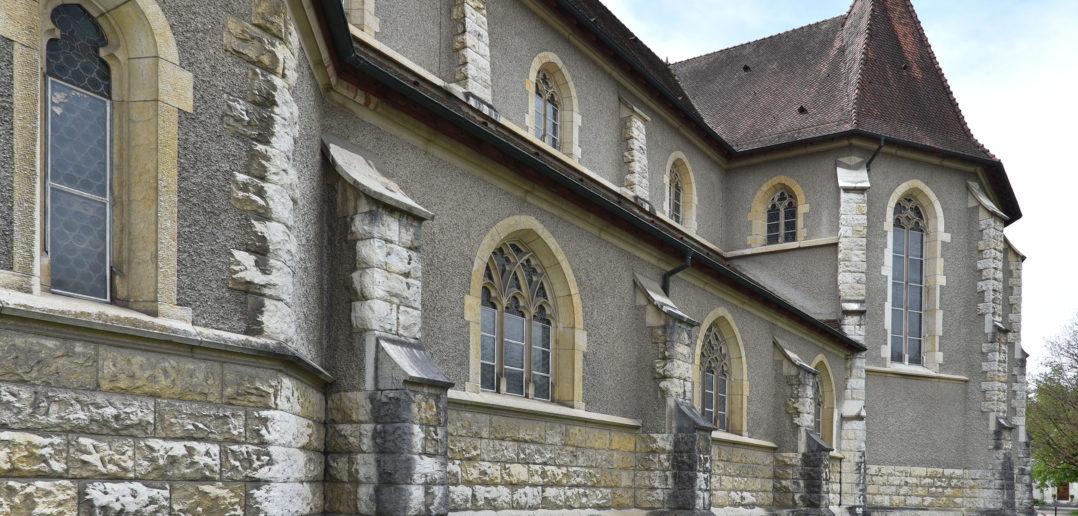 Römisch-katholische Kirche Herz Jesu, Laufen © Architektur Basel