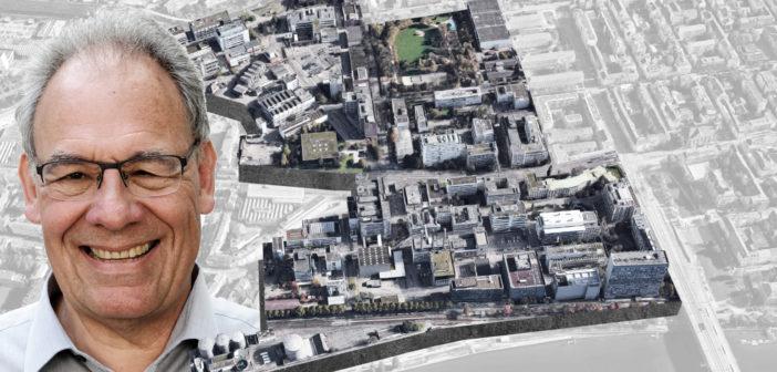 Quartier der Zukunft: Das Klybeck Areal im Kleinbasel © Montage Architektur Basel