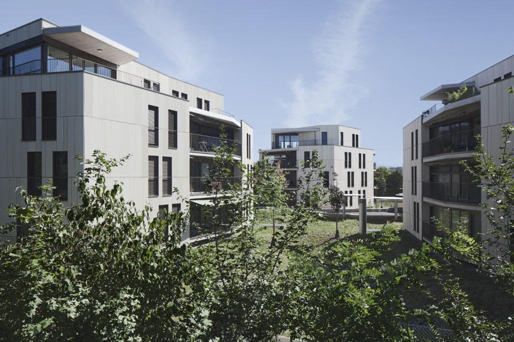 Wohnüberbauung am Kohlistieg in Riehen © Daniel Erne