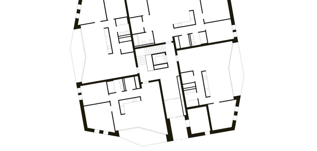 Wohnüberbauung am Kohlistieg in Riehen © Rapp Architekten