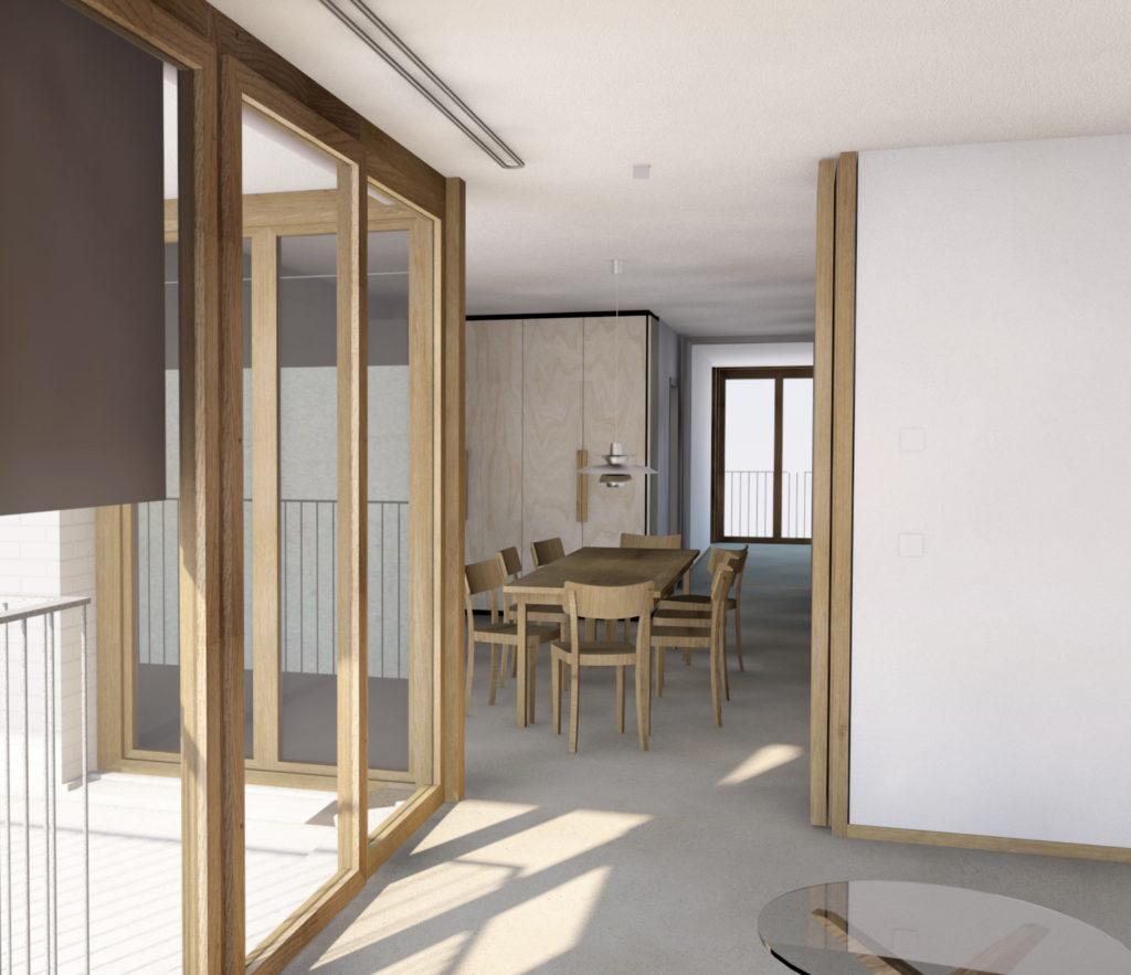 Burgfelderstrasse | Küche Prozessbild ©Nord Architekten