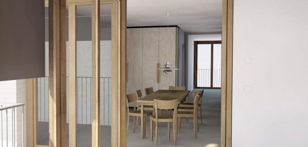 Burgfelderstrasse   Küche Prozessbild ©Nord Architekten