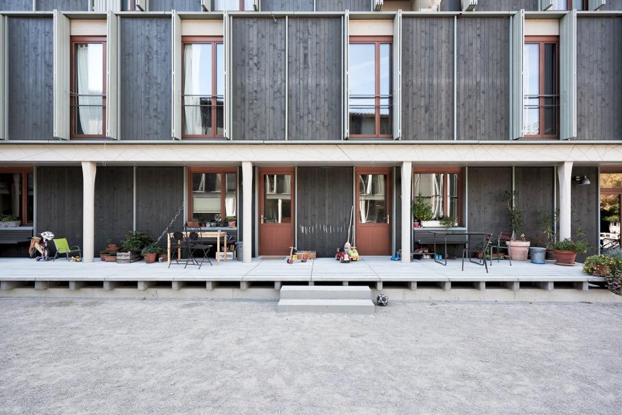 Wohnüberbauung Maiengasse von Esch Sintzel Architekten © Kuster Frey