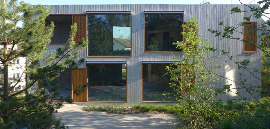 Zwei Doppeleinfamilienhäuser Rütiring Riehen © Staehelin Meyer Architekten