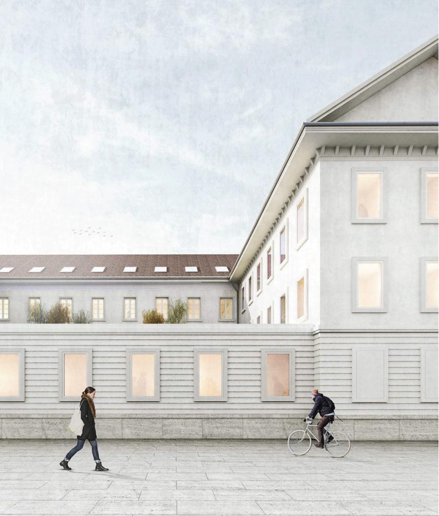 Alt oder neu? / «LIBRA» © ARGE Stähelin Partner Architekten, Basel & Schwob Sutter Architekten, Liestal