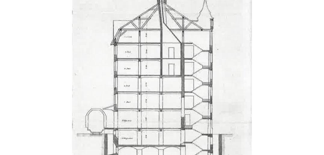 Querschnitt, Lagerhaus Coop, Pratteln