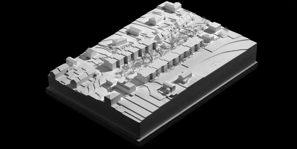 Modellbild Wohnen Studio Basel Bruderholz © Morger Partner