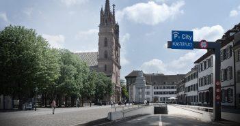 Visualisierung Parkhaus Münsterplatz (Bild: zVg)