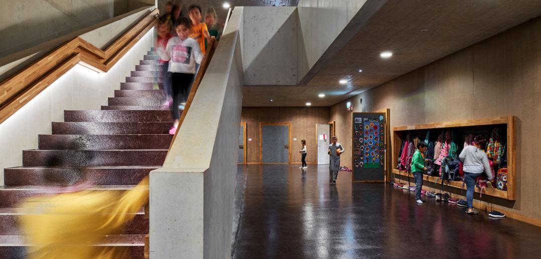 Neubau Primarschule Erlenmatt © Fotografie Roman Weyeneth