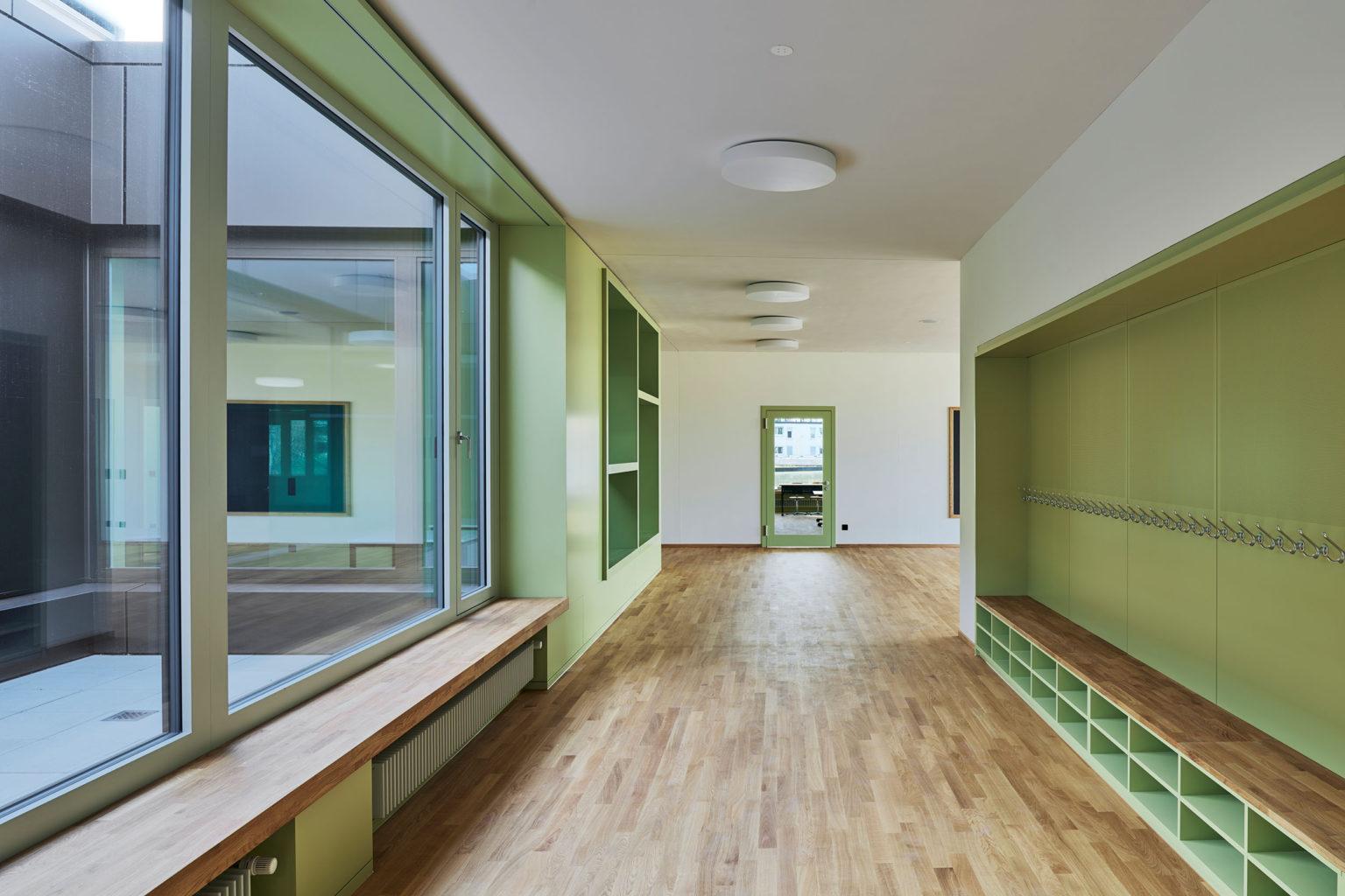 Neubau Primarschule Schoren © Fotografie Roman Weyeneth
