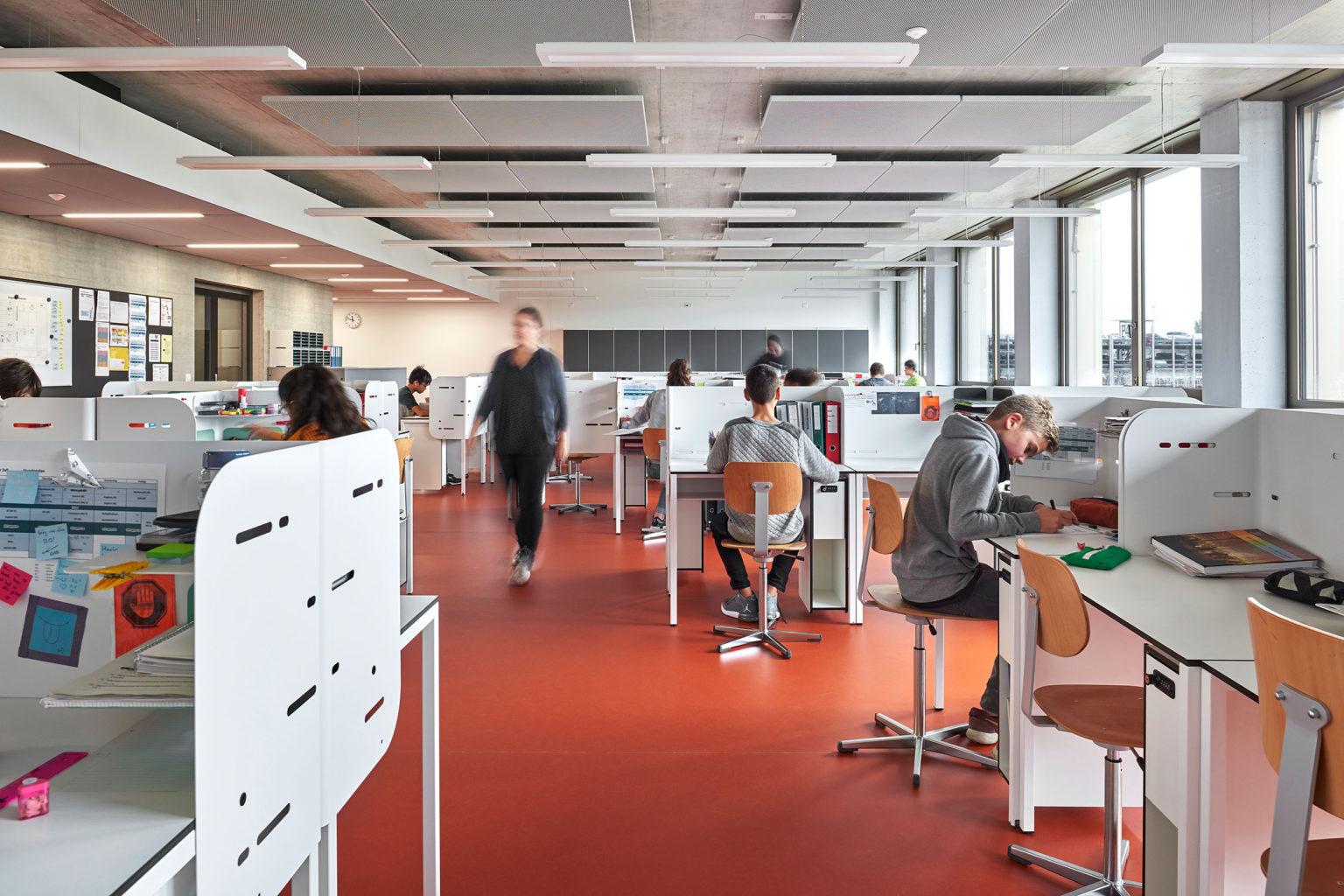 Neubau Sekundarschule Sandgruben © Fotografie Roman Weyeneth