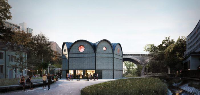 Aussenvisualisierung des Siegerprojekts © Vécsey Schmidt Architekten, ponnie images