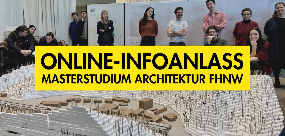 Architektur studieren an der FHNW © Institut Architektur FHNW