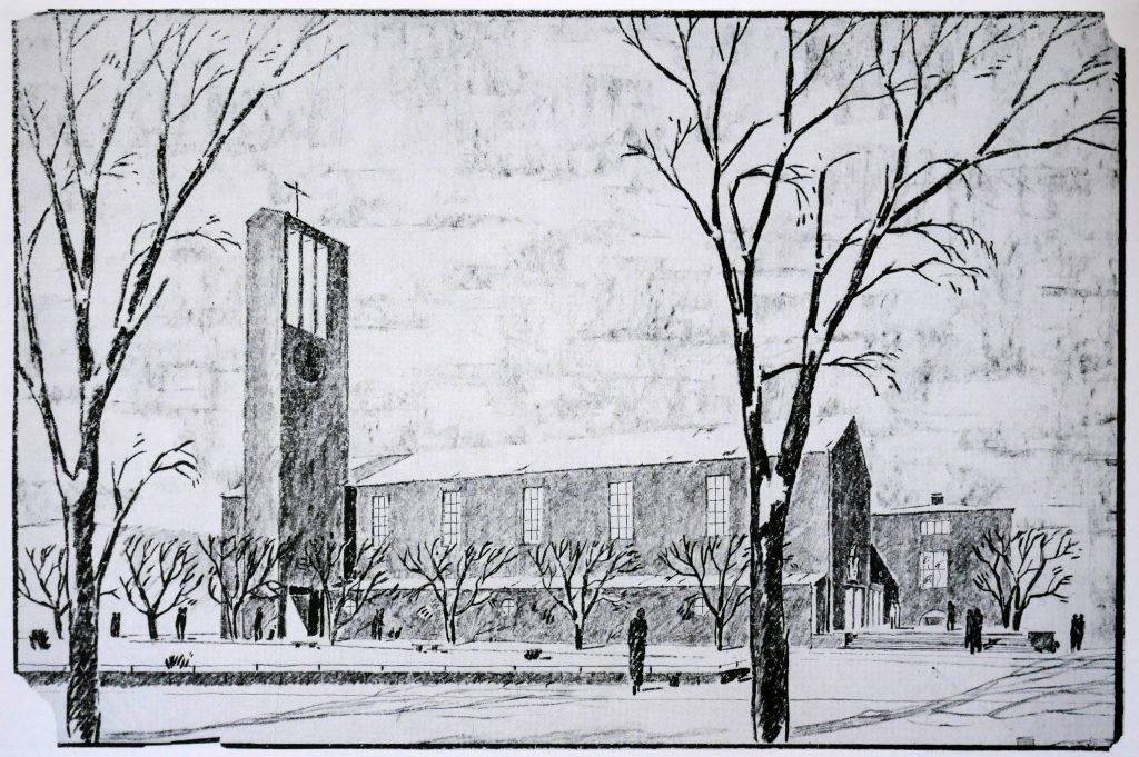Kirche Don Bosco von Hermann Baur (1934-37)