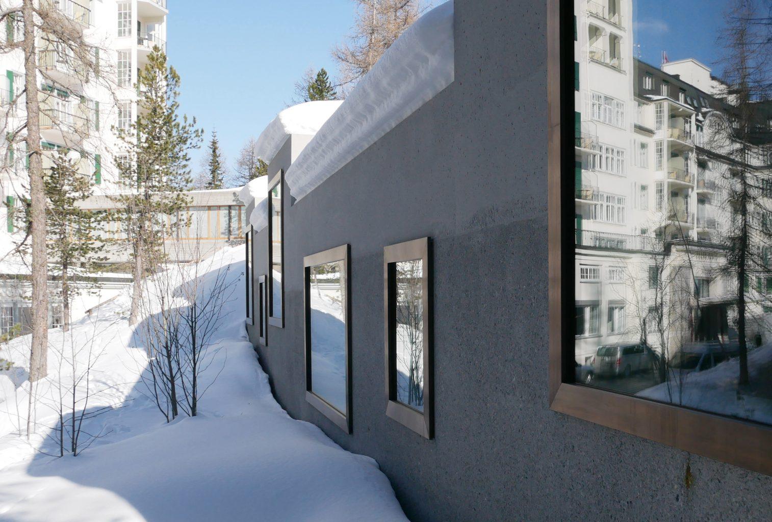 Zwischen arven und l rchen das neue waldhaus spa von - Architektur basel ...