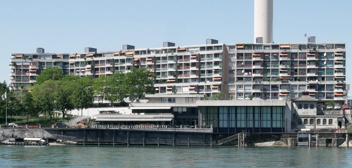 Überbauung Rhypark im St. Johann © Architektur Basel