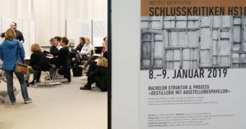 Schlusskritiken FHNW Herbstsemester 2018 © Architektur Basel