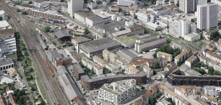 Areal Lysbüchel Süd © Planungsamt Basel-Stadt