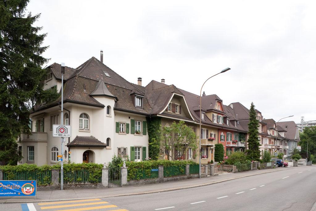 Siedlung Salinenstrasse, Pratteln © Börje Müller Fotografie
