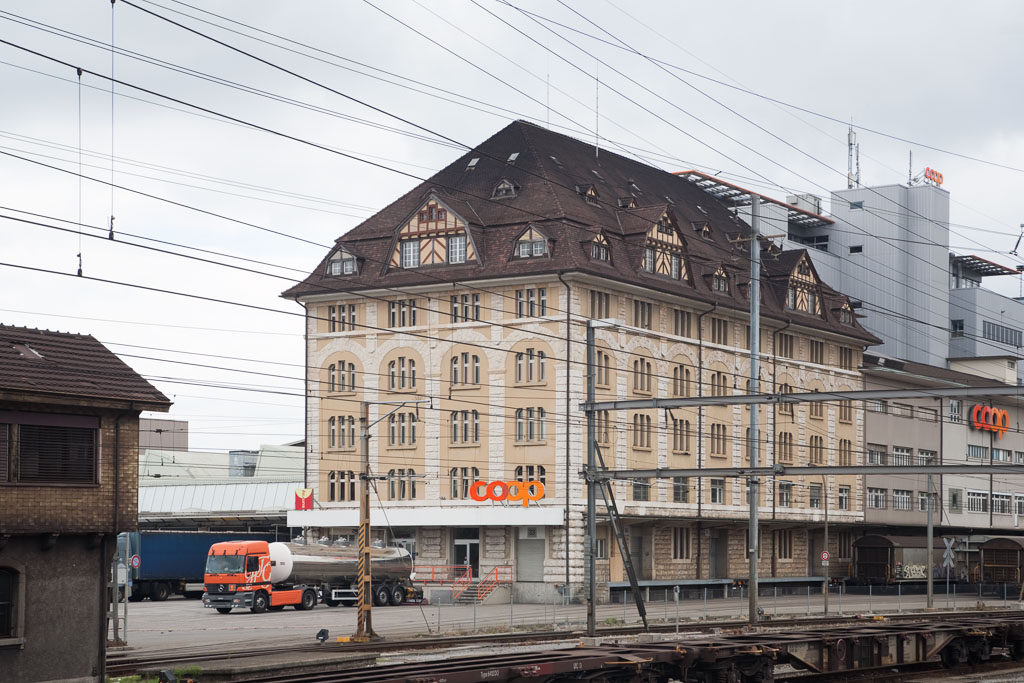 Lagerhaus Coop, Pratteln © Börje Müller Fotografie
