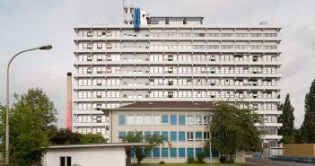 Industriebau «Pratteler Hilton», Pratteln © Börje Müller Fotografie