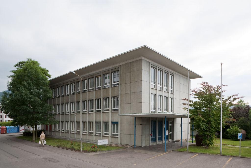 Verwaltungsbau Rohner AG, Pratteln © Börje Müller Fotografie