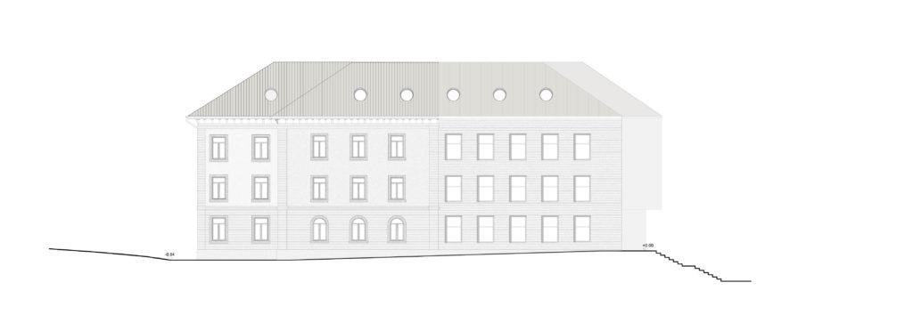 Ostfassade / «QUATTRO» © Demuth Hagenmüller & Lamprecht Architekten GmbH, Zürich