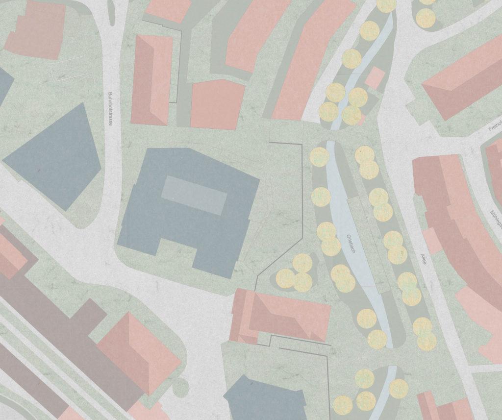 Situation / «QUATTRO» © Demuth Hagenmüller & Lamprecht Architekten GmbH, Zürich