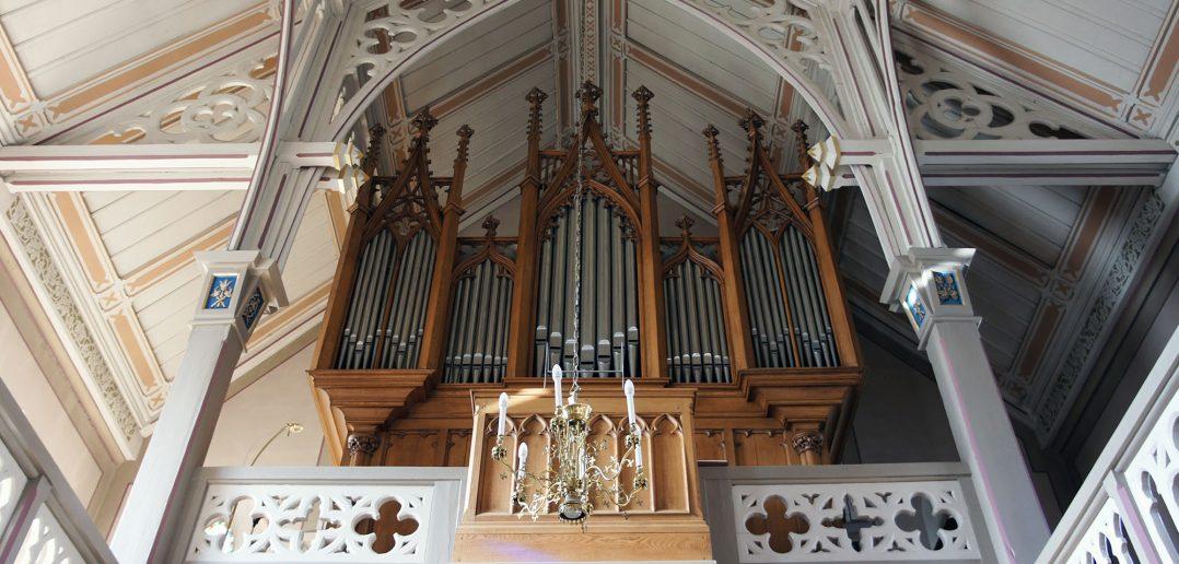 Reformierte Kirche St. Martin, Orgel und Dachraum, Kilchberg BL © Architektur Basel