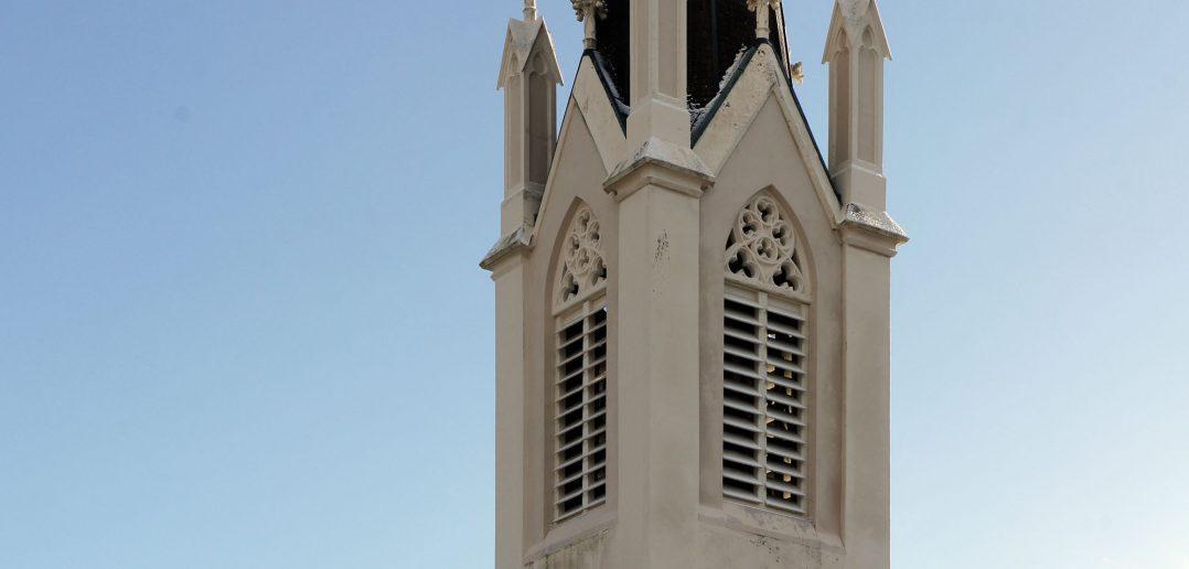 Reformierte Kirche St. Martin, Glockenturm, Kilchberg BL © Architektur Basel