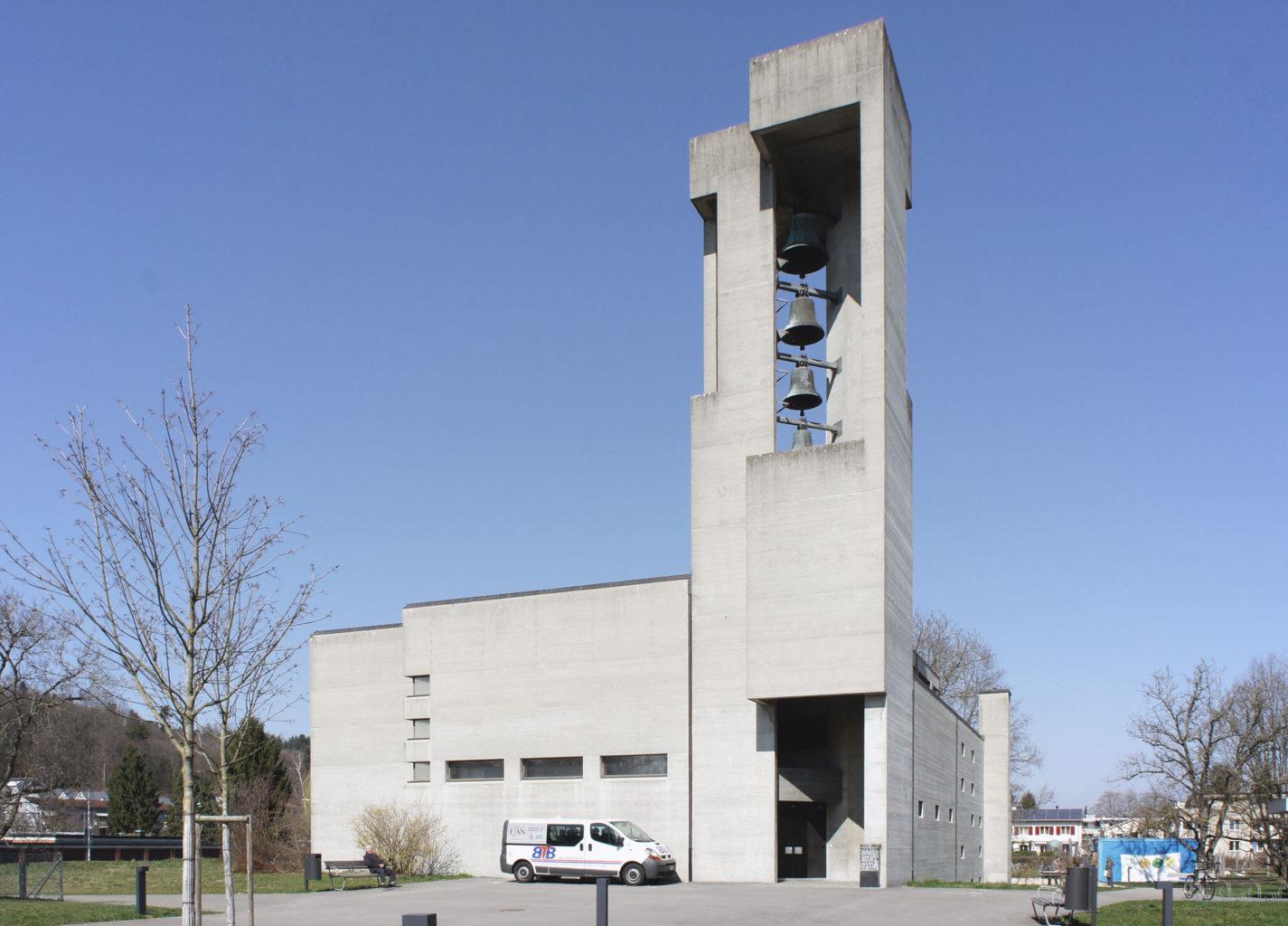 Reformierte Kirche, Reinach © Architektur Basel