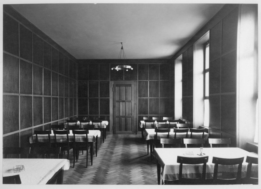 Restaurant im Genossenschaftshaus © Archiv Siedlungsgenossenschaft Freidorf