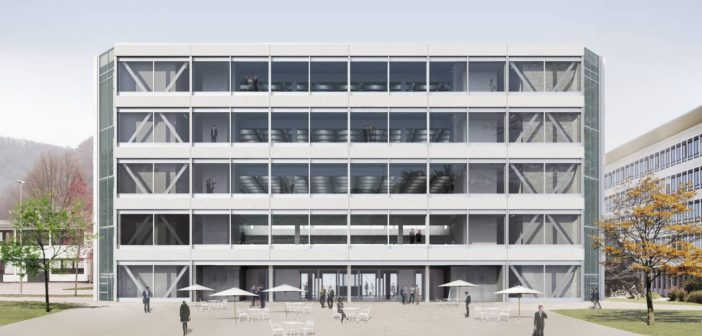 "Roche ""Flexible Office Building"" in Grenzach-Whylen © Christ & Gantenbein"