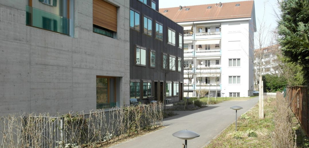 Hofbebauung Hegenheimerstrasse Luca Selva Architekten © Architektur Basel