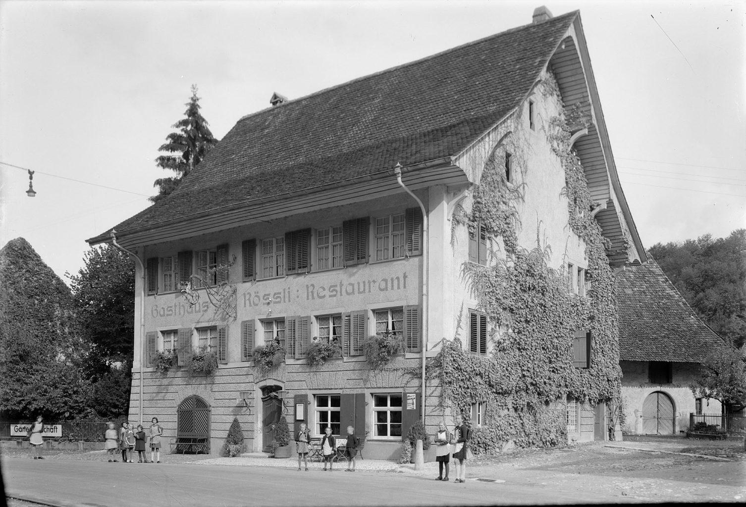 Das «Haus zum Rössli» 1942, STABL_PA_6292_01.096, Staatsarchiv Basel-Landschaft