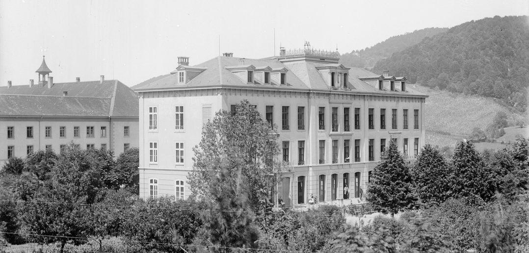 Birmann-Spital (1875), Liestal STABL_PA_6292_01.389, Fotosammlung Seiler Arnold und Junior, Liestal, Staatsarchiv Basel-Landschaft