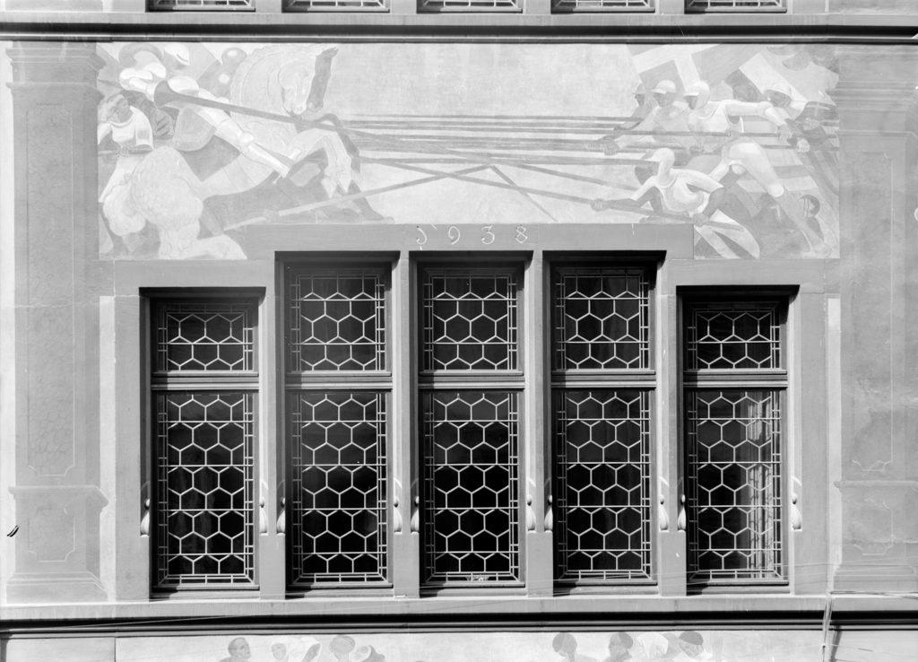 Jahreszahl der Erweiterung STABL_PA_6292_01.407, Fotosammlung Seiler Arnold, Liestal, Staatsarchiv Basel-Landschaft