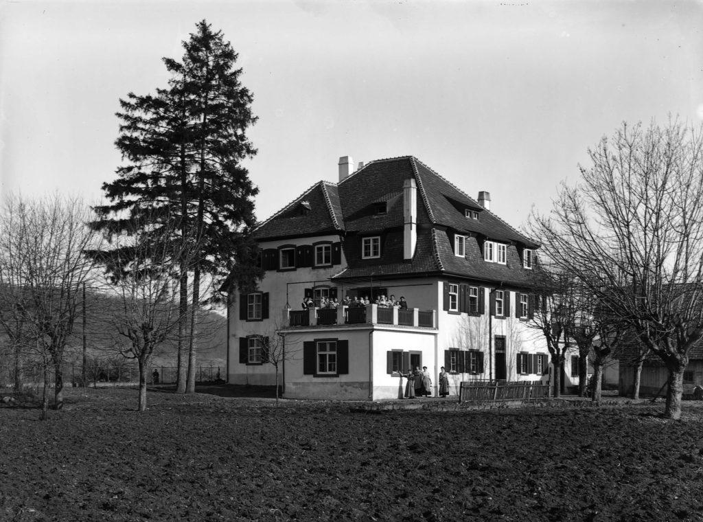 Ansicht von Westen STABL_PA_6412_01_01_186, Fotoarchiv der Firma Lüdin AG, Liestal, Staatsarchiv Basel-Landschaft, Foto: Karl Lüdin