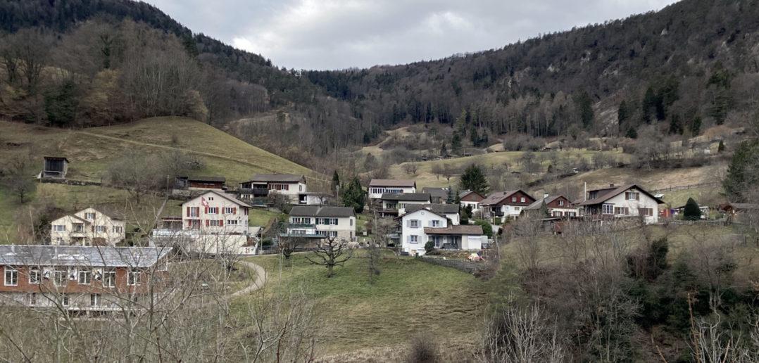 Gebiet Schanz, Waldenburg (2020) © Simon Heiniger / Architektur Basel