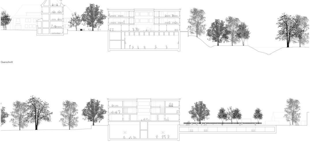 Schnitte © Weyell Zipse Architekten & Hörner