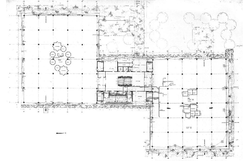 Grundriss des 1. Obergeschosses, Plan: Burckhardt+Partner AG Architekten Generalplaner