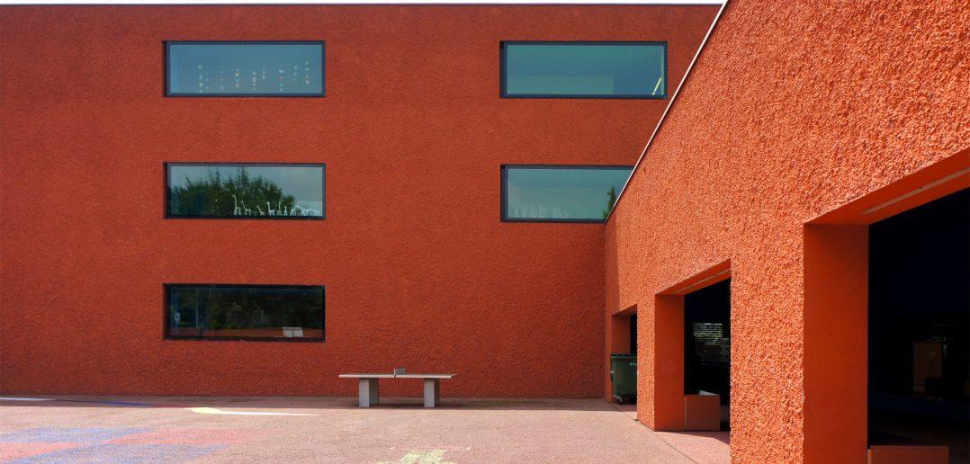 Schulhaus Hinter Gärten Riehen, 2006 © Architektur Basel