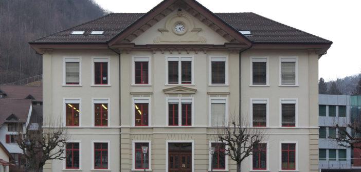 Gemeindeschulhaus Waldenburg, 2018 © Architektur Basel