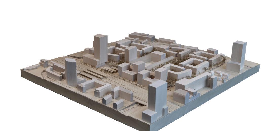 Situationsmodell, Bredella AG (Pläne: Burckhardt+Partner AG)