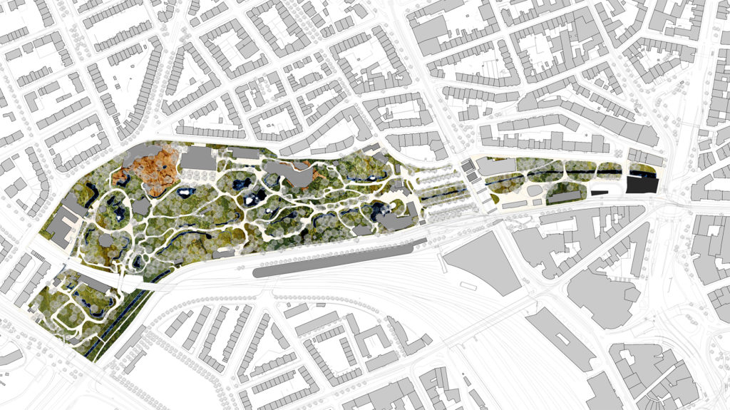 Situationsplan © Boltshauser Architekten